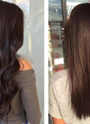 Натуральне волосся на кліпсах