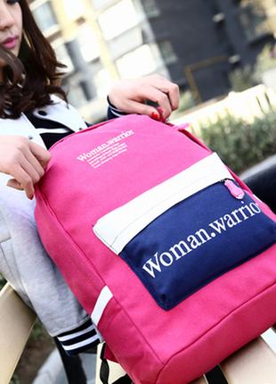 3-122 молодежный рюкзак школьный рюкзак стильный вместительный