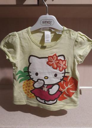 Очень красивая футболочка hello kitty