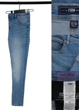 Мужские зауженные джинсы fishbone