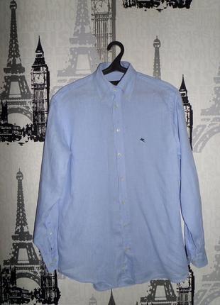 Шикарная рубашка etro оригинал разм.l