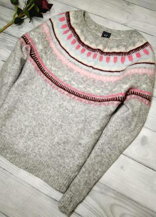 Натуральный свитер от бренда gap2
