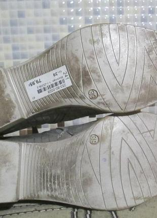 Ботинки tamaris р.39.натур.кожа.оригинал.не ношенные.4 фото