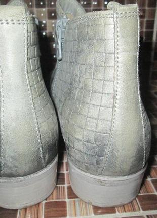 Ботинки tamaris р.39.натур.кожа.оригинал.не ношенные.3 фото