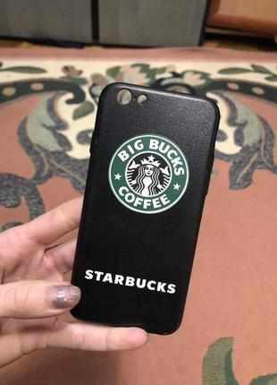 Чехол starbucks для iphone 6
