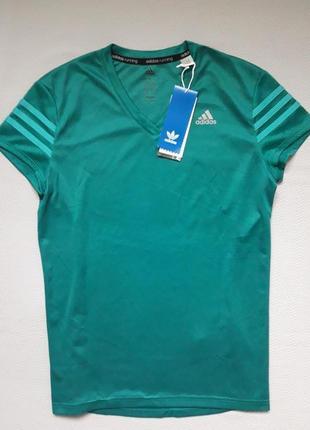 Фирменная спортивная футболка adidas climalite response оригинал