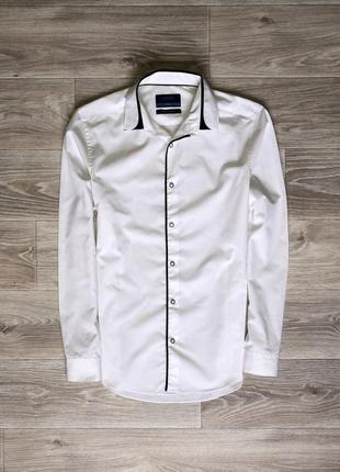 Рубашка burton menswear slim fit