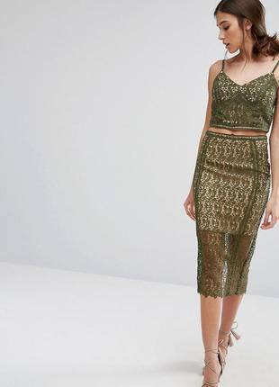 Идеальная юбка миди от премиум коллекции new look