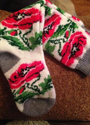 Гольфы, гетры, носки теплые зимние шерстяные