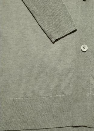 Line of oslo cтильный удлиненный кардиган свободного кроя/оверсайз s-m4