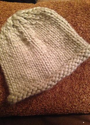 Шапка женская зимняя, шапка зимняя, шапка обьемная