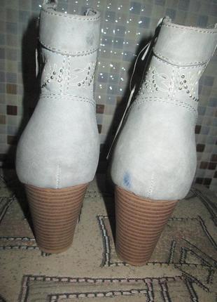Ботильоны ботинки jenny fairy р.38.оригинал.сток2