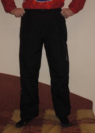 Фирменные мембранные туристические штаны didriksons dry5 р.l
