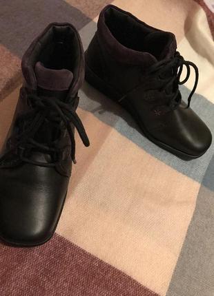 Ботинки  hotter comfort  размер 38