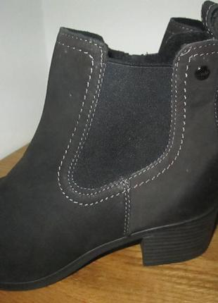 Ботильоны ботинки lasocki р.36,р.40 натур.нубук.оригинал.сток.читаем...3 фото