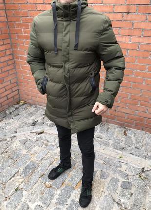 Распродажа! зимняя мужская куртка пуховик