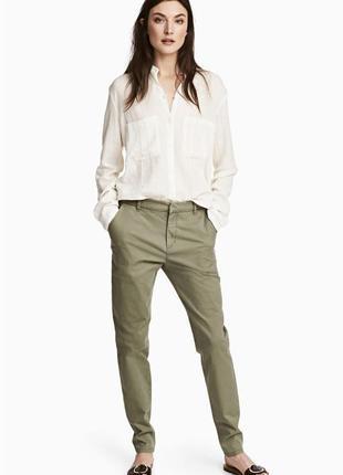 Чинос штаны брюки h&m