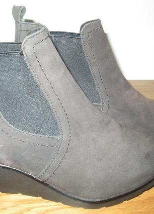 Ботильоны ботинки lasocki р.37,р.41.натур.нубук.оригинал.сток.читаем...1 фото
