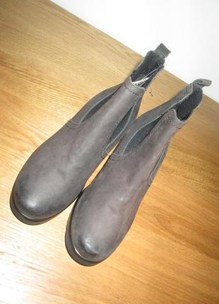 Ботильоны ботинки lasocki р.37,р.41.натур.нубук.оригинал.сток.читаем...2 фото