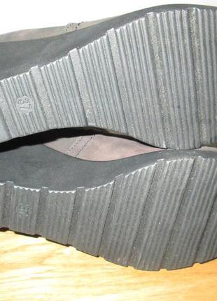 Ботильоны ботинки lasocki р.37,р.41.натур.нубук.оригинал.сток.читаем...5 фото