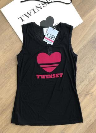 Новая брендовая майка twin-set