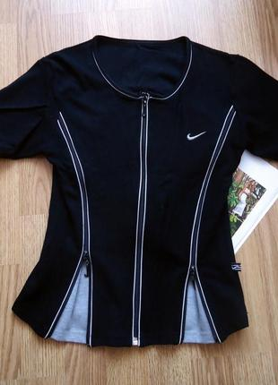Спортивная кофта nike, черная