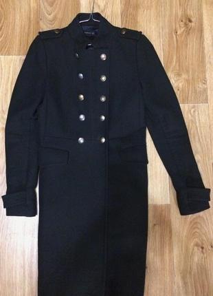 """Пальто zara в стиле """"милитари"""", в хорошем состоянии!"""