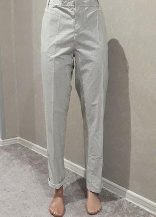 Шикарные брюки в полоску liz claiborne l