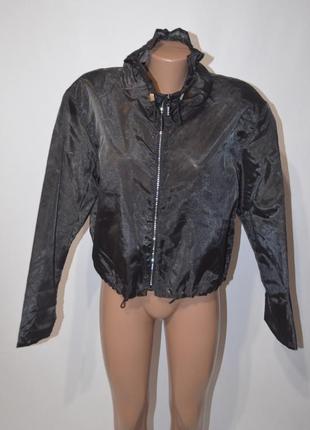 Летняя куртка ветровка органза стразы