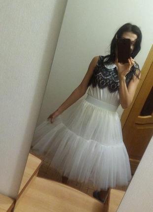 Юбка фатиновая американка мега пышная свадьбы фотосессии, девишники
