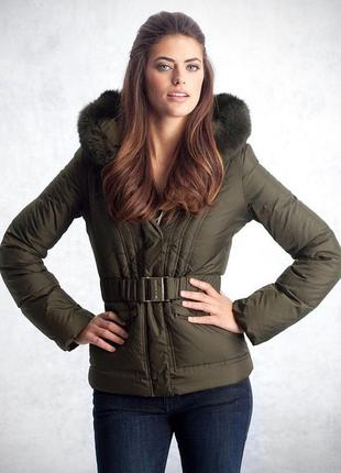 Новый оригинал пуховик куртка парка guess by marciano xs s на пуху