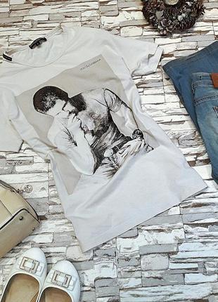 Бузумно стильная футболка d&g.