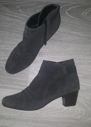 Новые footglove by m&s замшевые кожаные демисезон ботинки ботильоны 41