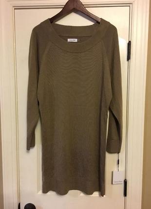 Платье-свитер calvin klein