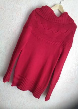 Теплый красивый свитер loft