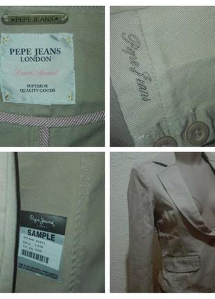 Супер ціна!!! брендовий піджак оригінал! розмір s/м, pepe jeans, лондон