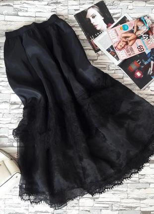 Роскошнейшая чёрная юбка. италия.