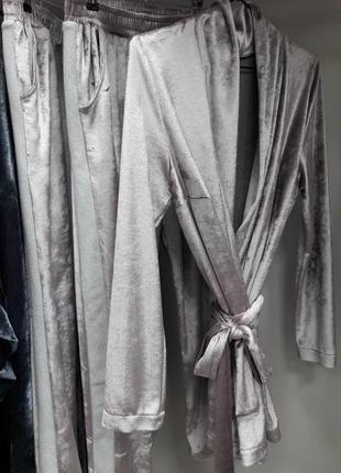 Велюровый костюм натуральный