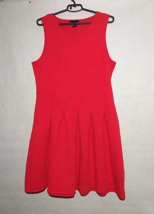 Платье коралловое красное оранжевое миди вискоза