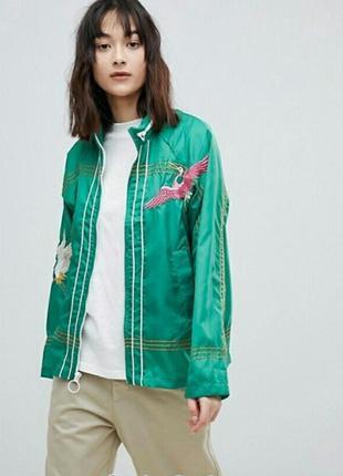 Куртка-дождевик от аsos с нашывками
