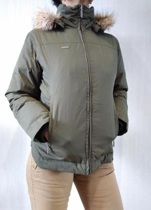 Стильная зимняя куртка пуховик columbia оригинал p s 4510b542fc021