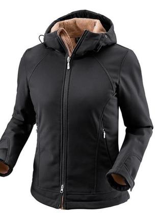 Женская лыжная куртка softshell на меху от тсм tchibo германия, размер 38 евро=441