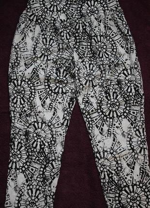 Легкие брюки в пижамном стиле в идеальном состоянии размер м/46