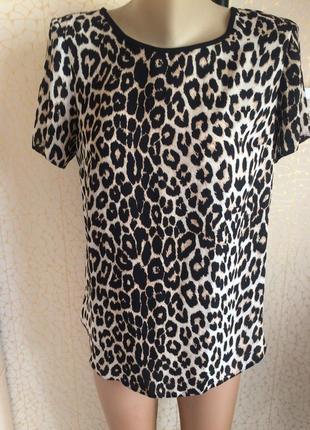 Тренд сезона !!! леопардовая блуза