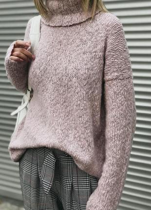 Базовый свитер в стиле оверсайз♥