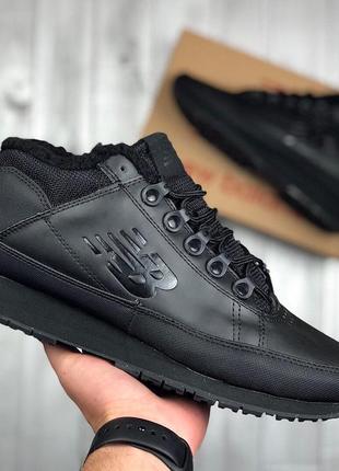 Черные мужские кроссовки зимние new balance 754 41 42 43 44 45 размер e3829e2113fe6