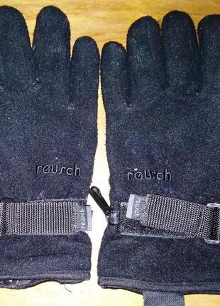 Спортивные флисовые перчатки reurch