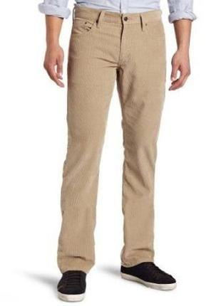Бежевые мужские вельветовые брюки джинсы g-star р.48 (w32 l32)  индия