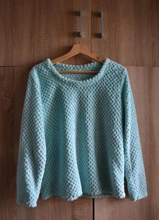 Нежный и фактурный свитер-травка от george