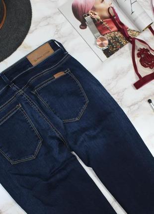 Обнова! джинсы скинни темно синие классика высокая талия качество новые на высоких4